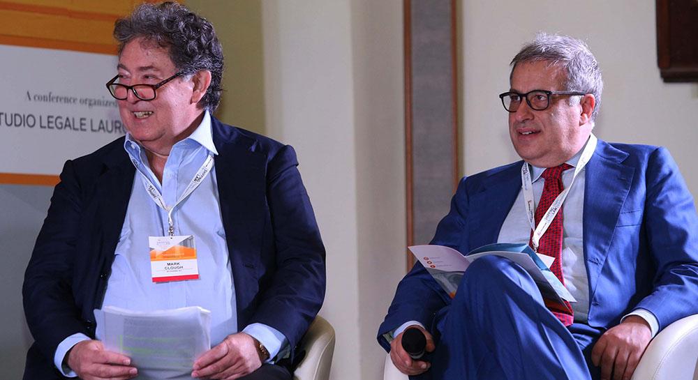 Mark Clough e Francesco Lauro