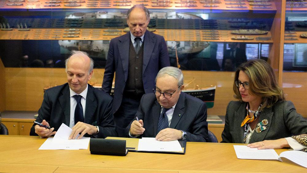Bussetti e Bono firmano il protocollo