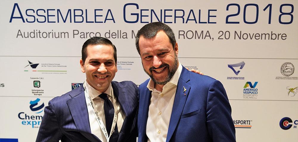 Grimaldi e Salvini
