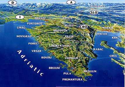 Croazia E Slovenia Cartina Geografica.Informazioni Marittime Trieste Slovenia E Croazia Via Alla Gara Per Il Collegamento Marittimo