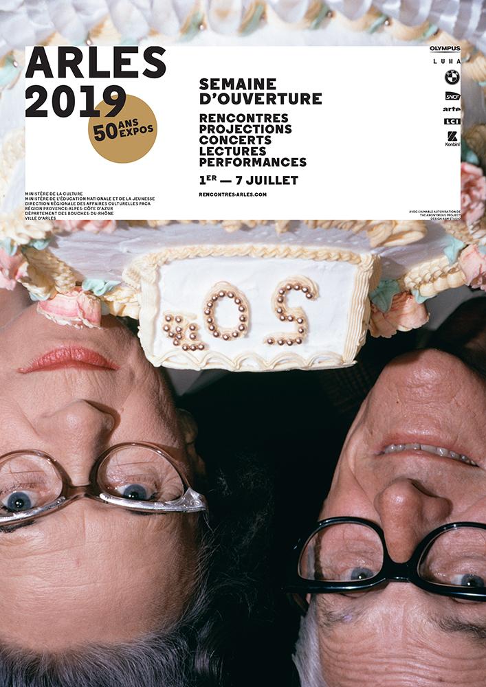 La locandina di Les Rencontres de la Photographie d'Arles 2019