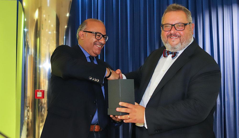 Ibrahim Ashmawy e Claudio Ricci