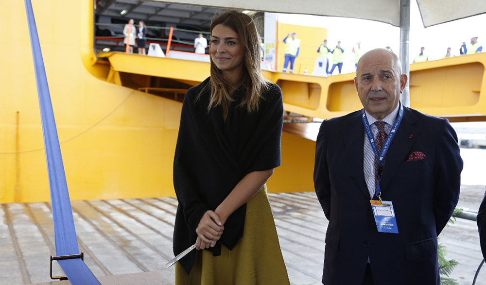 Cristina Chiabotto ed Emanuele Grimaldi