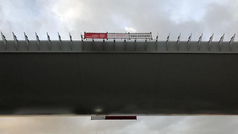 Il nuovo troncone del Ponte dei Papi