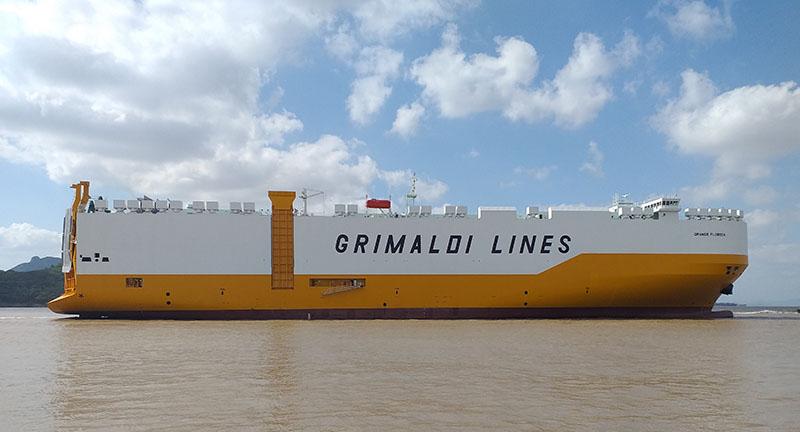 "La pure car and truck carrier ""Grande Florida"""