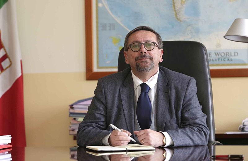 Pietro Spirito, presidente dell'Autorità di sistema portuale del Tirreno Centrale