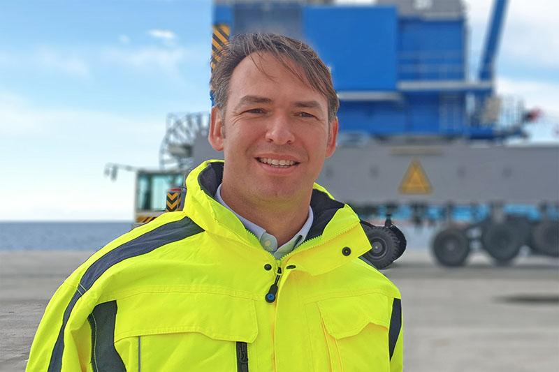 Antonio Barbara, amministratore delegato di HHLA PLT Italy