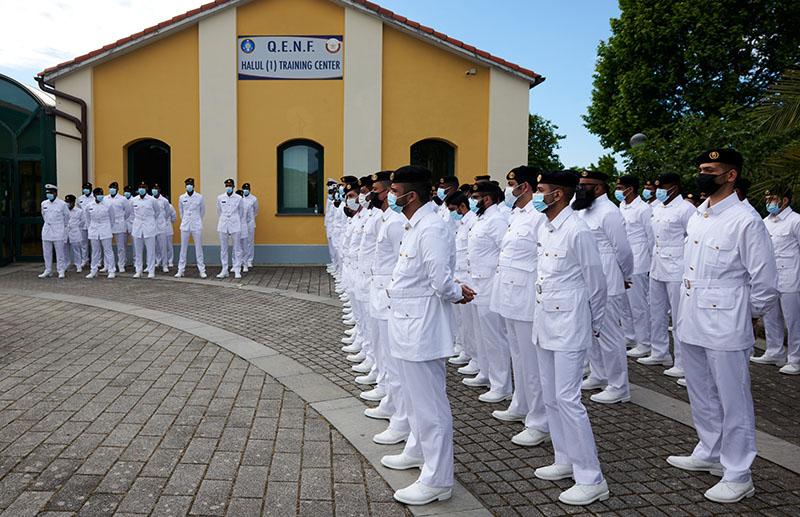 """Cadetti del nuovo centro di addestramento """"Halul 1"""", in Qatar"""