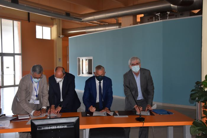 (Da sinistra) Gianfranco Simoncini, Claudio Capuano, Piero Neri e Luciano Guerrieri