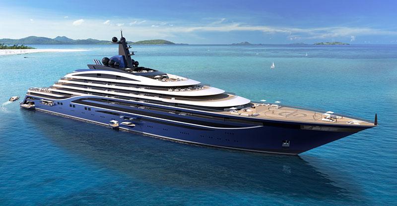 Vard-Fincantieri costruirà il più grande yacht del mondo