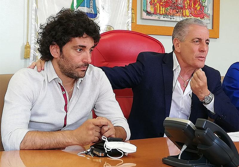 Patrizio Scilipoti ed Enrico Luciani